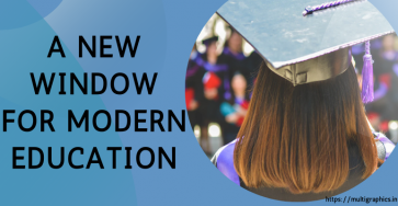 A New window for modern education - e-learning