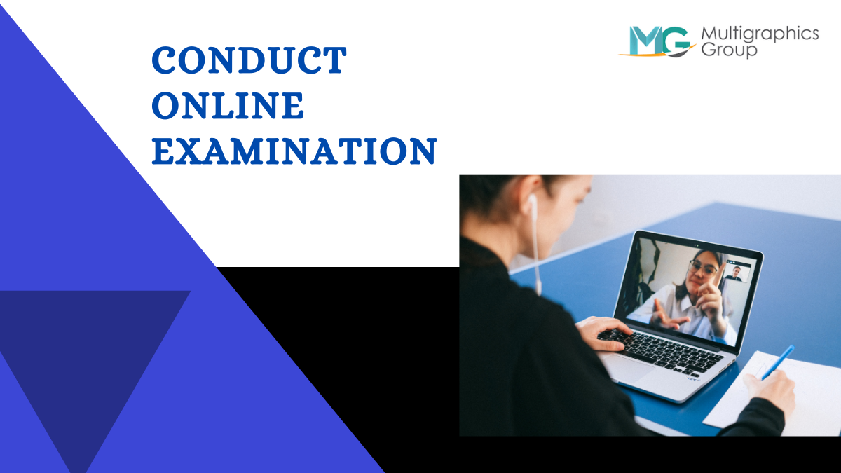 How to conduct online examination?
